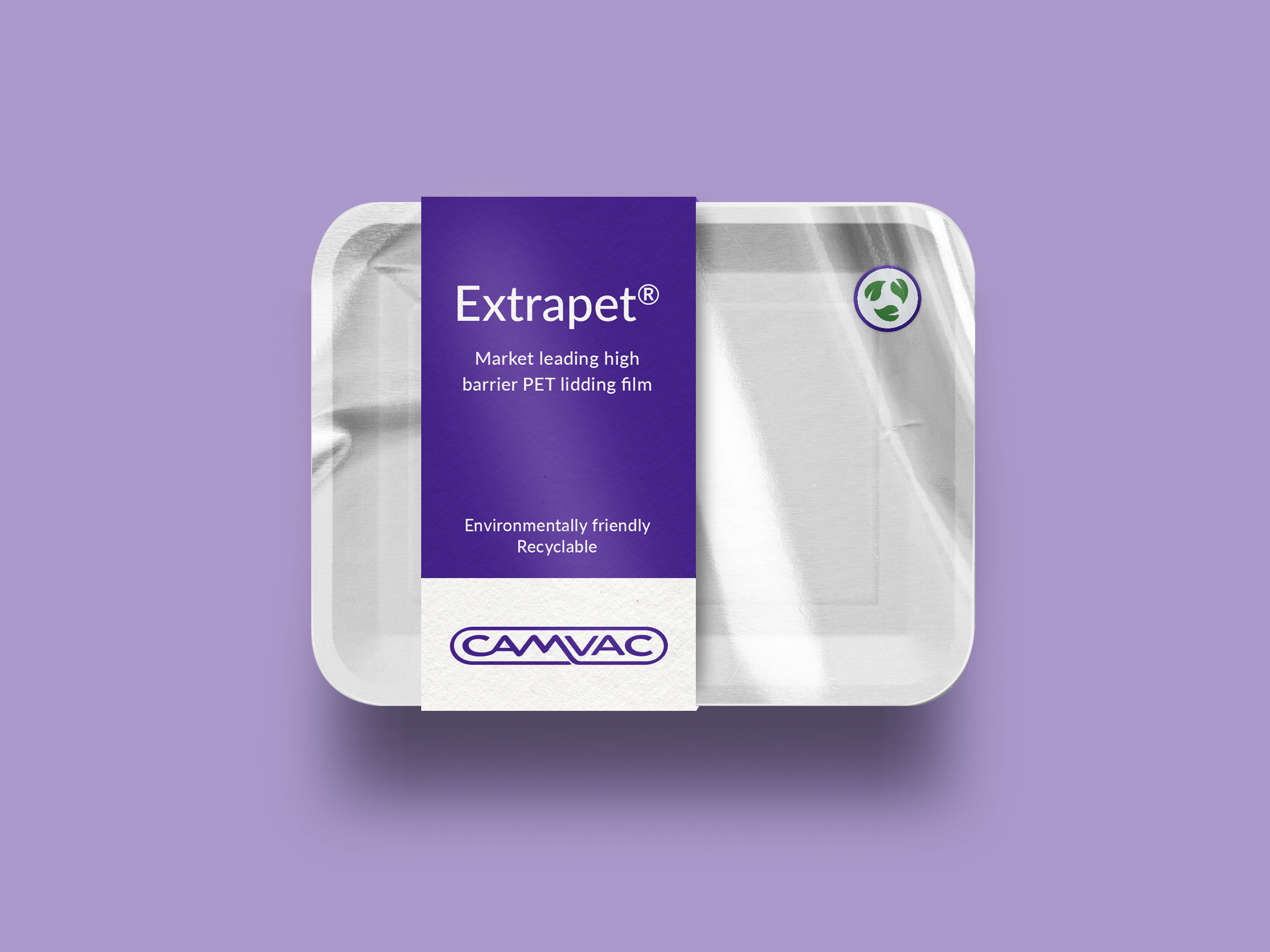 Sustainable Packaging Solutions - Extrapet Recyclable Lidding Film